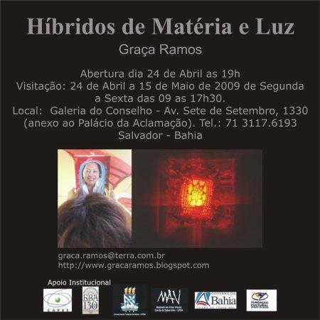 Convite EXPO - Prof. Graça Ramos