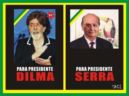 O Saci nas eleições presidenciais