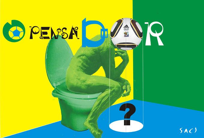 105 O Pensador Verde Amarelo Blog Do Saci Pererê