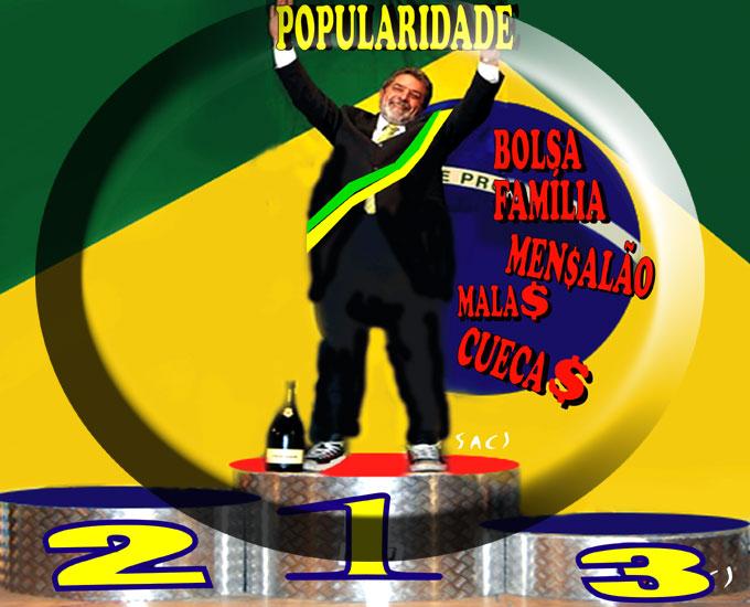 Resultado de imagem para Lula corrupto expulso do PT: charges