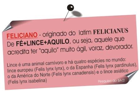 feliciano-origem