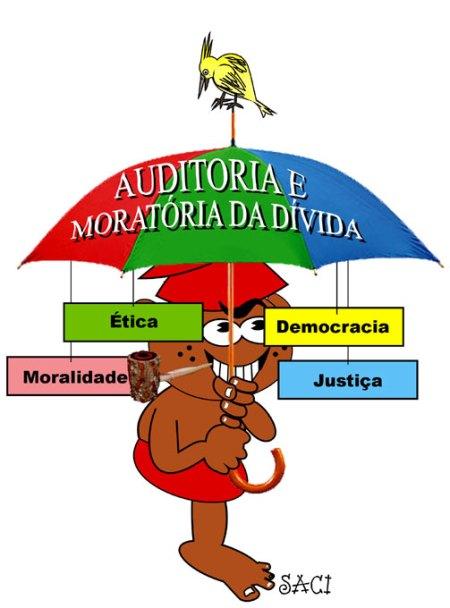 Para o Pica-Pau, a auditoria da dívida externa é o grande guarda-chuva...