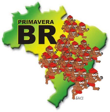 ue inverno nada! Para o Saci, o Brasil é assim mesmo: nos últimos minutos do segundo tempo do outono, eis que surge a primavera!