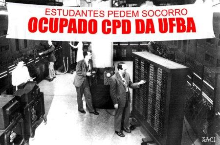 Até agora, só não ficou claro o porquê de o debochado do Saci postar uma foto do famoso ENIAC, da década de quarenta, do século passado, como se fosse o CPD atual...