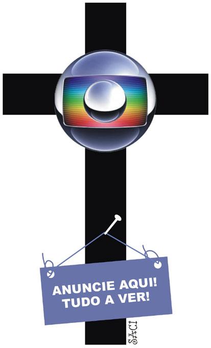 Para o Saci, a cobertura que a Rede Globo fez da visita do ocupante do trono de Pedro ao Brasil foi, simplesmente impecável, contando, inclusive com a participação piedosa e desinteressada de seus funcionários...