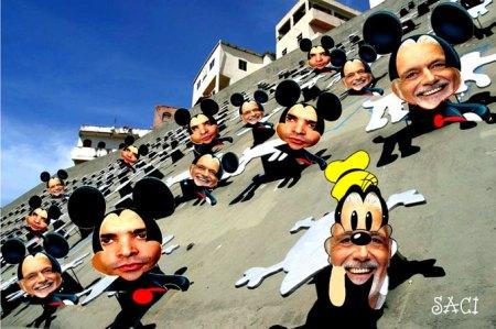 Para o Saci, vandalismo de Estado é quando a indiferença das autoridades constituídas acoitam   os larápios.