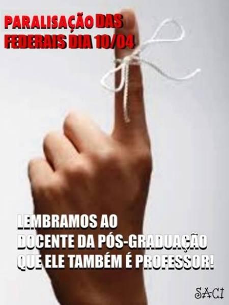 lembrete de dedo