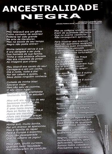 Joaquina Leite Poema-Cartaz 1