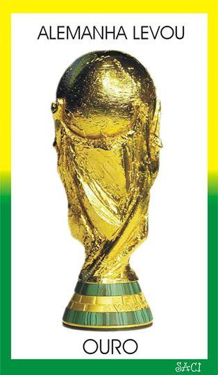 Alemanha recebeu ouro