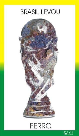 Brasil recebeu ferro