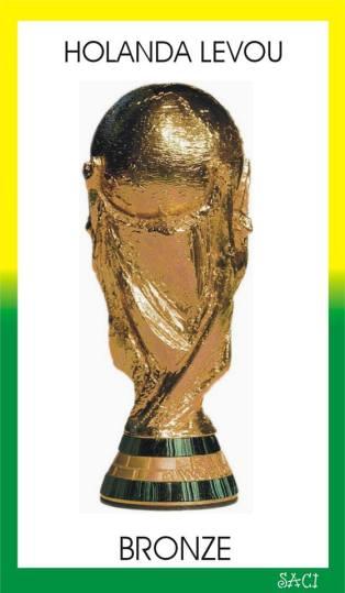 Holanda recebeu bronze