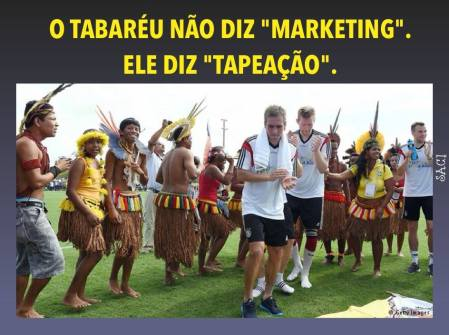 marketing ou tapeação