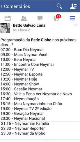 overdose de neymar