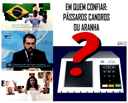 URNAS, ARANHA E PASSAROS G