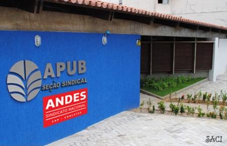 Para o Saci, aos poucos a sede nova da APUB vai entrando nos conformes: é só uma questão de tempo...