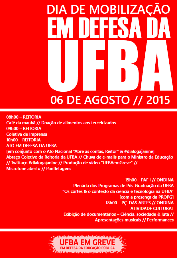 cartaz mobiliza ufba