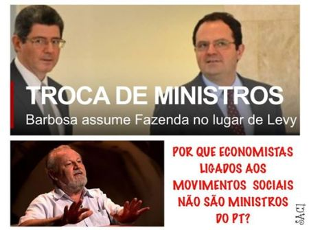 troca ministros
