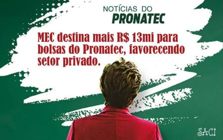 pronatec e privadas