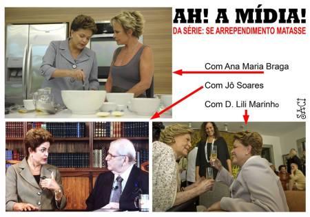 Dilma na mídia 2016
