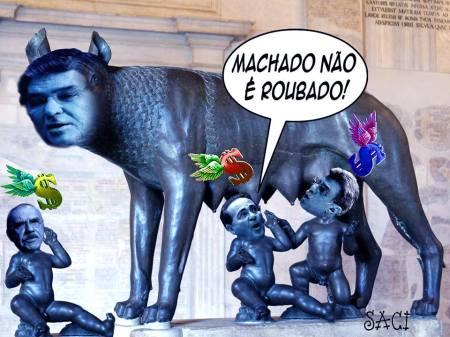 MACHADO NÃO É ROUBADO 2016