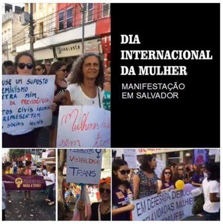 Manifestação em Salvador 17